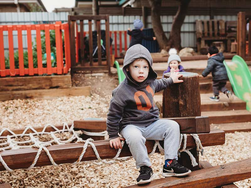 Eyre Room - outdoor play