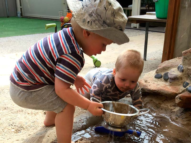 Fleurieu Room - water play
