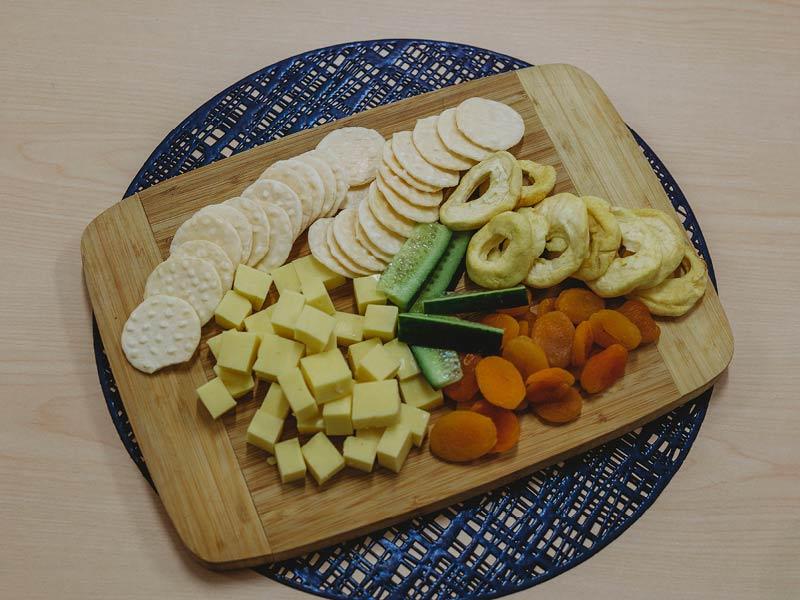 nutrition - platter